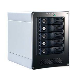 NA710C 5-bay eSATA Port Multiplier Enclosure