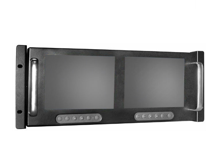 "Dual 6"" Rackmount Display"
