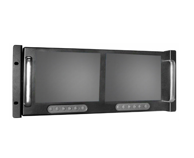"Dual 8"" Rackmount Display"